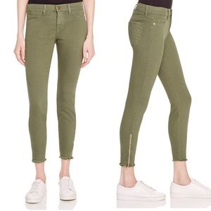 Pistola Audrey Mid-Rise Crop Zip Ankle Skinny Jean